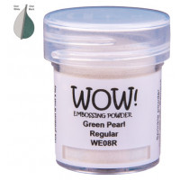 Pó Emboss - WOW! - Green Pearl Regular..