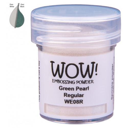 Pó Emboss - WOW! - Green Pearl Regular