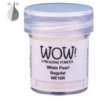 Pó Emboss - WOW! - White Pearl Regular -..