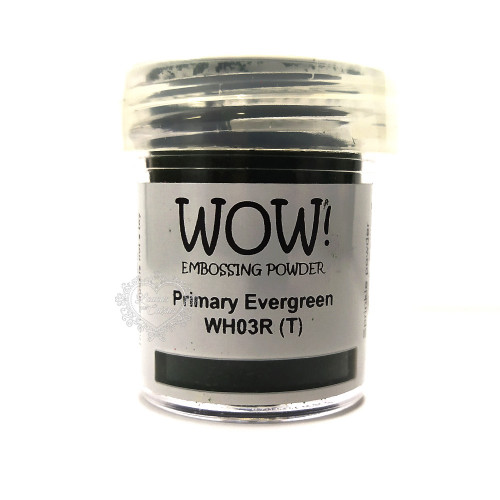 Pó Emboss - WOW! - Primary Evergreen