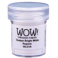 Pó Emboss - WOW! - Opaque Bright White R..
