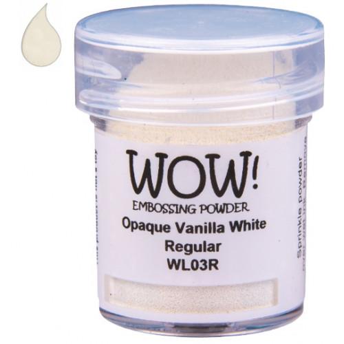 Pó Emboss - WOW! - Vanilla White