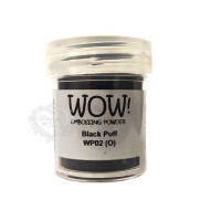Pó Emboss - WOW! - Black Puff..