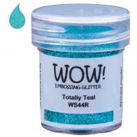 Pó Emboss Glitter - WOW! - Totally Teal..