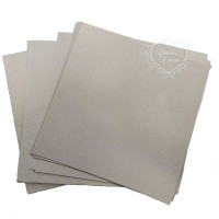 Papel Liso Branco Pérola - 13x13 cm..