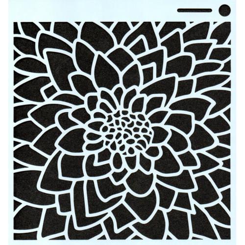 Stencil Suculenta - 15x15