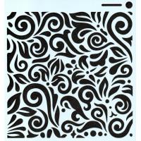 Stencil Arabesco STC011 - 15x15..