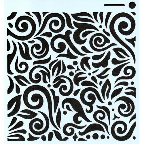Stencil Arabesco STC011 - 15x15