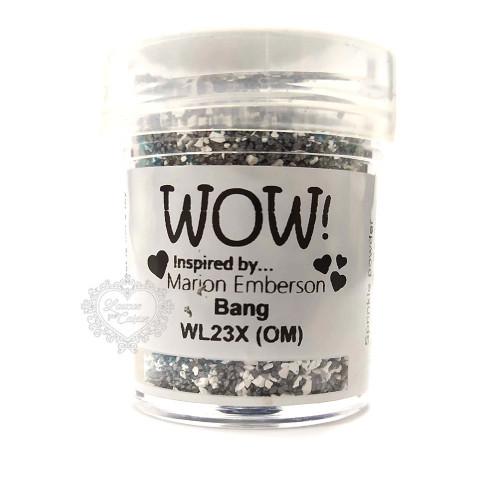 Pó Emboss - WOW! - Bang