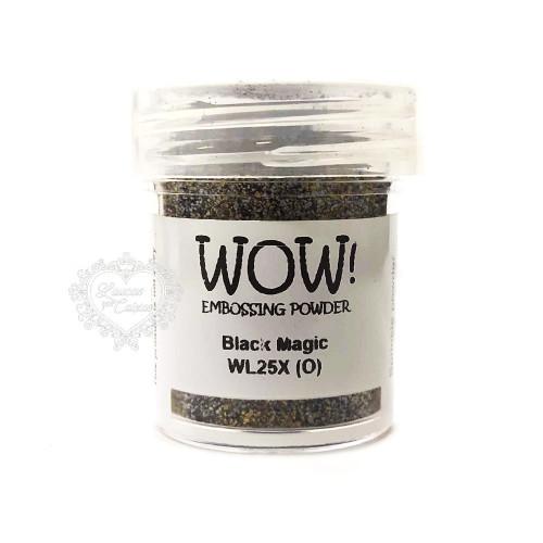 Pó Emboss - WOW! - Black Magic